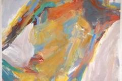 Tempera, Acryl, Pigment, 100x70 cm, 1988