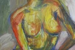 Ei-Tempera, Acryl, Pigment, 100x70cm, 1988